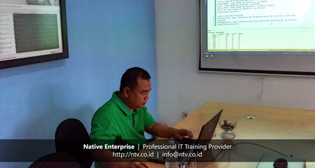 SQL Server TSQL Programming Training bersama Bank Syariah Mandiri-Native Enterprise