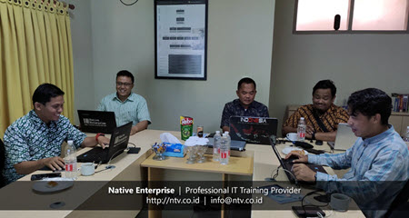 Firewall Security Training With Disdukcapil Kota Tangerang-Native Enterprise