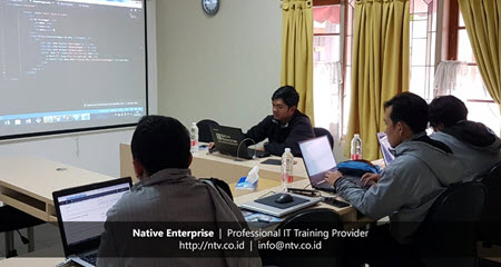 Building PHP Web Application using CodeIgniter Training with Disdukcapil Kota Tangerang