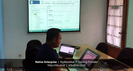 SharePoint Administration and Workflow Training bersama PT Lestari Banten Energi