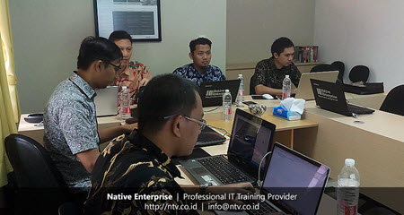 Cross Platform Mobile App Dev using React Native Training with BKPSDM Tangerang Kota-Native Enterprise