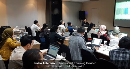 Excel Dahsboards Reports Training bersama Pertamina Geothermal Energy-Native Enterprise