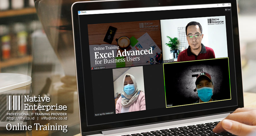 Excel Advanced for Business Users Online Training bersama Petrochina Indonesia