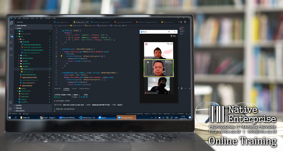 Angular Online Training bersama Akatel Jakarta - Native Enterprise